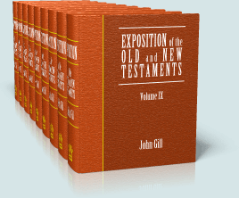 john gill commentary pdf download