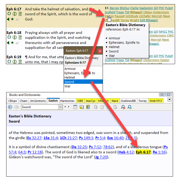 SwordSearcher Bible Software - Features and Screenshots