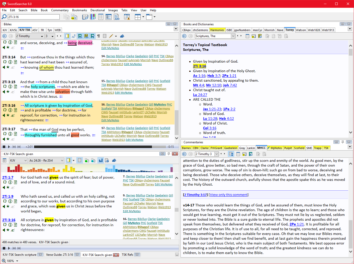 Download SwordSearcher Bible Software 6.2.2