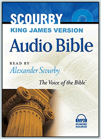 Alexander Scourbty MP3 Bible from AMG