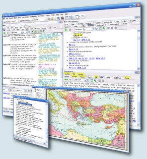 Click to view SwordSearcher Bible Software 5.3.1 screenshot