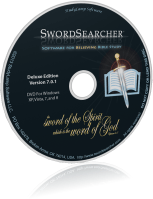 SwordSearcher Deluxe Edition CD-ROM