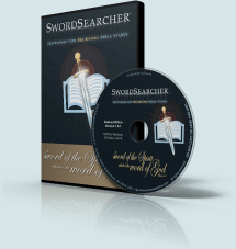 SwordSearcher Deluxe Edition Box and Disc