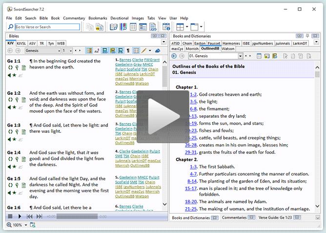 Video: Setting a Bible Search Range